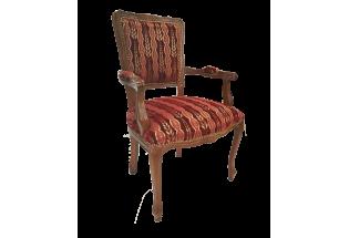 Krēsls aud. f557/02 Fiori beigechiaro/or