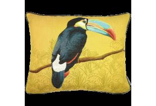 Spilvens Toucan blue beak yellow 40*50