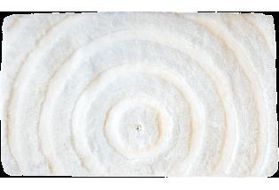 Vannas istabas paklājs Allure 0.65*1.10 white