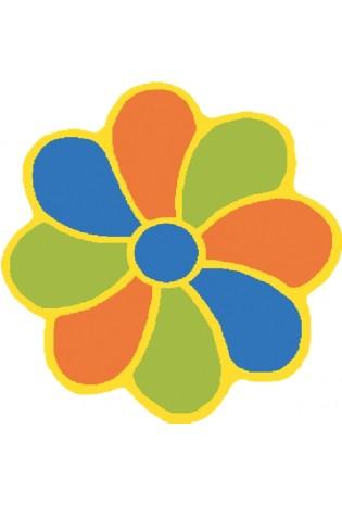 Paklājs Weliro Kwiatek zloty 1.00*1.00