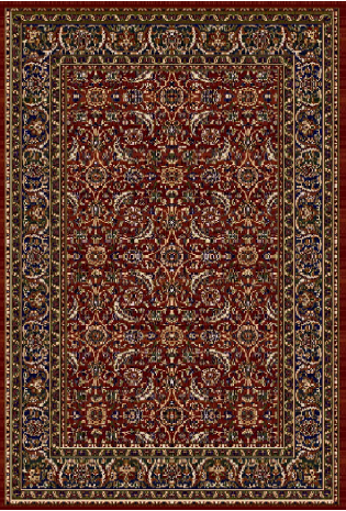 Paklājs Vera 0.80x1.50 L terra/D blue