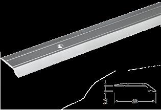 Alumīnija profils, dažāda augstuma 3,5 mm