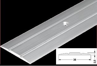 Pārejas profils alumīnija 36mm 270cm