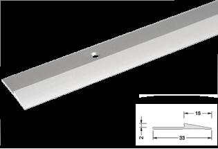 Alumīnija apdares profils 2mm 270cm