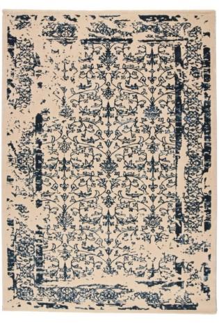 Paklājs Manyas 0.80x1.50 Ivory /Blue