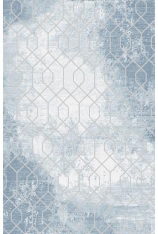 Paklājs Vals 0.80*1.50 C.L.Blue/L.Grey